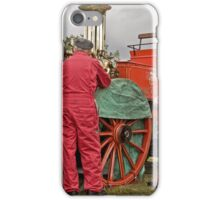 City of Chester Steam Fire Engine iPhone Case/Skin
