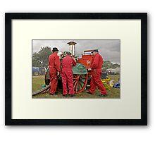 City of Chester Steam Fire Engine Framed Print