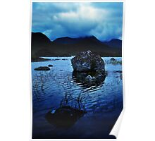 Rannoch Moor Blues. Poster