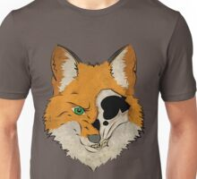 Sanity is questionable fox Unisex T-Shirt
