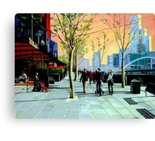 Southbank Promenade Canvas Print