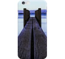 Sunset at the boat launch iPhone Case/Skin