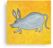 Billy the Bilby Canvas Print
