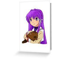 Kyou Fujibayashi Greeting Card