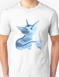 Vaporeon Waves T-Shirt