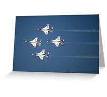 Thunderbird Roar Greeting Card
