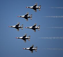 Thunderbirds Air Show by Sandy Woolard