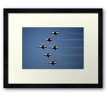 Thunderbirds Air Show Framed Print