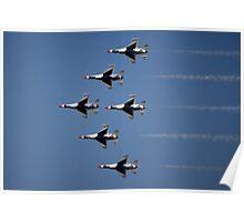 Thunderbirds Air Show Poster