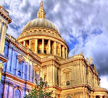 St Paul`s Cathederal - London - HDR by Colin J Williams Photography