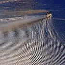 Ripples in the lake by John Dalkin