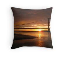 Humber Sunset Throw Pillow