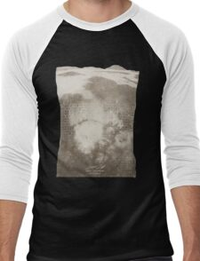 Doctor Who Misty Mountain Series 9 t-shirt Men's Baseball ¾ T-Shirt