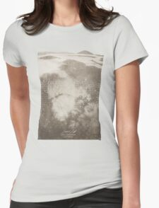 Doctor Who Misty Mountain Series 9 t-shirt Womens Fitted T-Shirt
