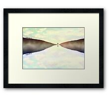 wish I was here... Framed Print