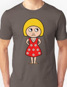 Little Sulky Girl T-Shirt