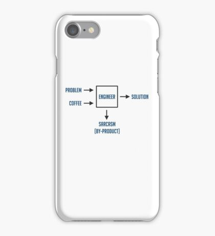 Engineering Sarcasm By-product iPhone Case/Skin