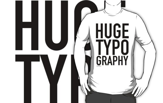 HUGE TYPOGRAPHY / by sub88