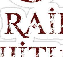 I Raid with Ragnar Sticker