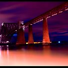Forth Bridge @ low light by Sajeev Chandrasekhara Pillai
