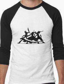 soul eater maka albarn death the kid black star tsubaki anime manga shirt Men's Baseball ¾ T-Shirt