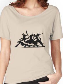 soul eater maka albarn death the kid black star tsubaki anime manga shirt Women's Relaxed Fit T-Shirt