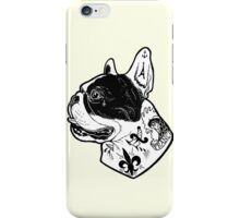 Tattooed French Bulldog iPhone Case/Skin