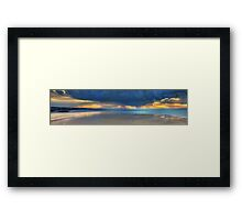 Westgate Sunset Framed Print