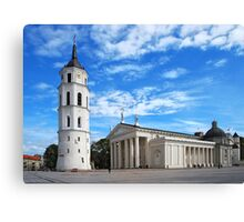 Vilnius Cathedral Canvas Print
