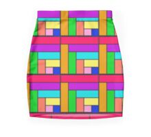 Competing Colors Skirt Pencil Skirt