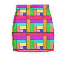 Competing Colors Skirt Mini Skirt