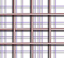 Simplicity Grid Duvet by GolemAura