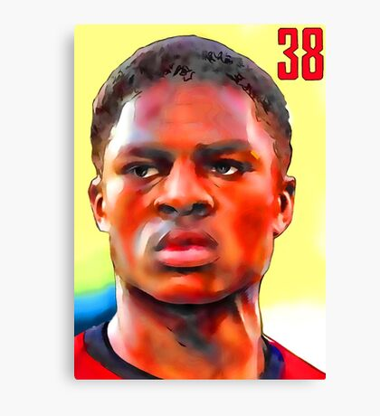 Chuba Akpom - Arsenal Striker Canvas Print