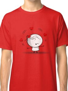Playing with red hearts Classic T-Shirt