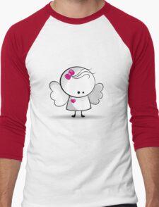Angel girl Men's Baseball ¾ T-Shirt