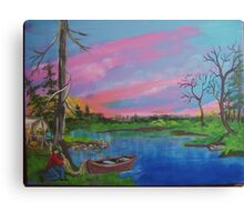gone for the weekend Canvas Print