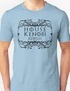 House Kenobi (black text) Unisex T-Shirt