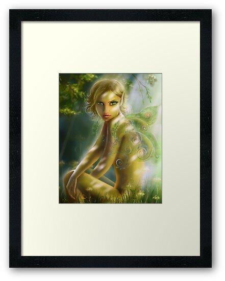 elf in wood  by Alena Lazareva