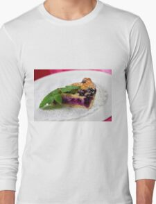 Blueberry Tarte  Long Sleeve T-Shirt