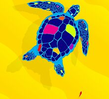 Paper Craft Sea Turtle by STEELGRAPHICS
