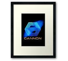 Cannon Logo Framed Print