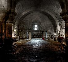 St Mary's Crypt, Lastingham by mdgaskell