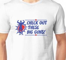 Body Builder Big Guns Fun Gym Lover Quote Unisex T-Shirt