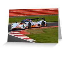 # 009 AMR Lola Aston Martin Greeting Card