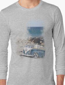 Splitty Beach Long Sleeve T-Shirt