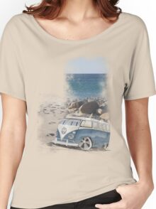 Splitty Beach Women's Relaxed Fit T-Shirt