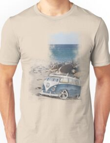 Splitty Beach Unisex T-Shirt