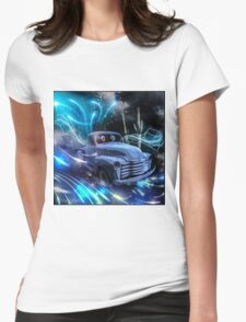 THE GHOST TRUCK RETURNS Womens Fitted T-Shirt