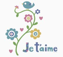 je t'aime - i love you - lights Kids Clothes