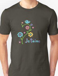 je t'aime - i love you - lights T-Shirt